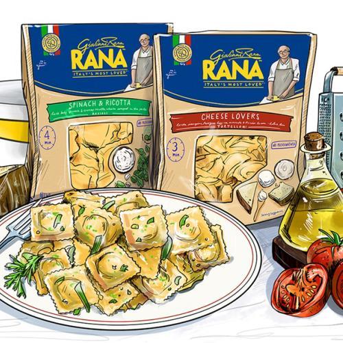 Italienische Mahlzeiten in Minuten