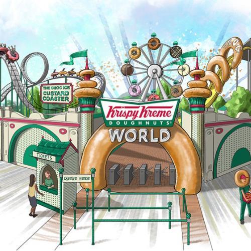 Krispy Kreme Theme Park