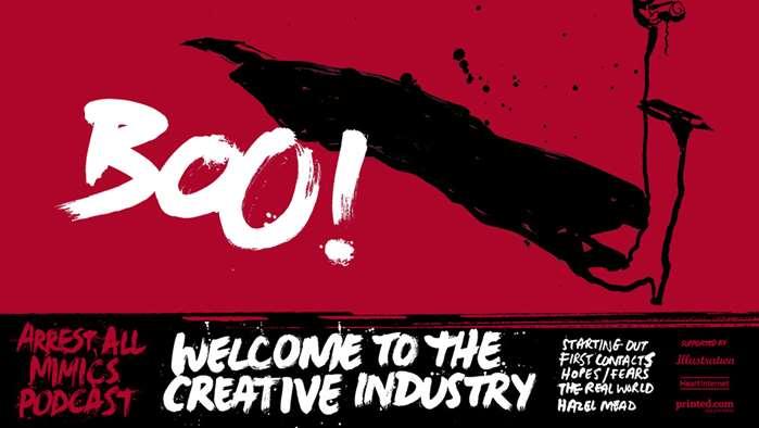 逮捕所有模仿者播客:欢迎来到创意产业