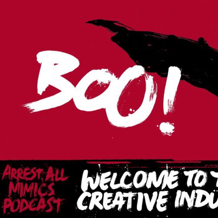 Prenda todos os imita o podcast: Bem-vindo à indústria criativa