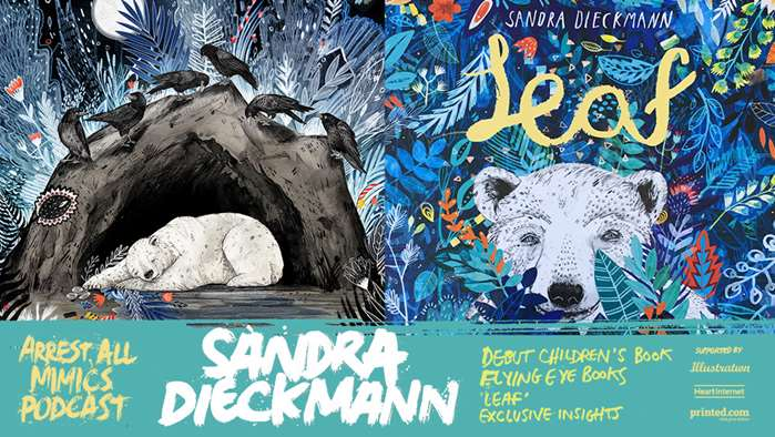逮捕所有模仿者播客:Sandra Dieckmann和她的首本儿童读物。