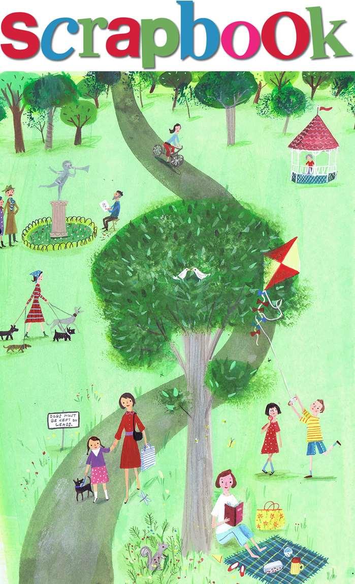Scrapbook of Rebecca Gibbon, a children's book illustrator