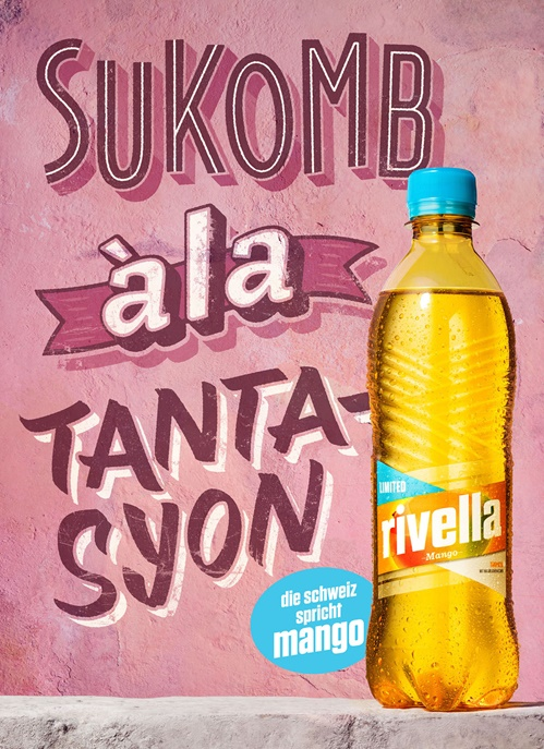 BoomArtwork - custom lettering for a Swiss Rivella Campaign