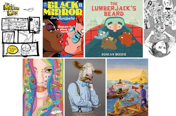 Illustrators awards shortlisted