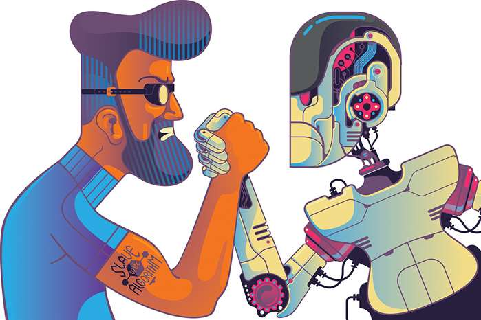 Mark Oliver predicts the future with his punchy illustrations for GQ Magazine