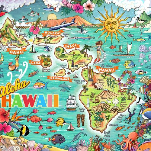Hawaii in Pieces