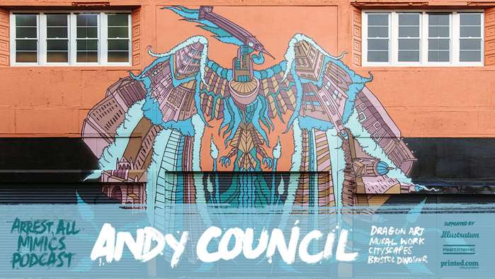 Ben Tallon meets with multi-disciplinary artist and illustrator Andy Council