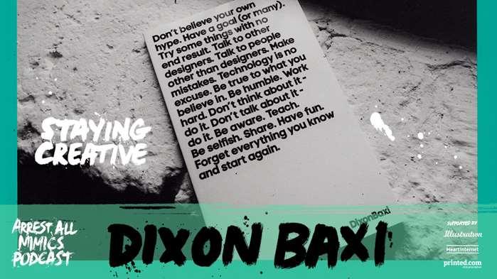 逮捕所有模仿者播客:DixonBaxi