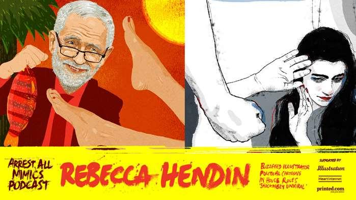 逮捕所有模仿者播客:丽贝卡·亨丁(Rebecca Hendin)