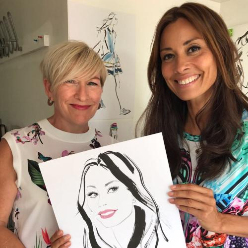 A Portrait for Melanie Sykes