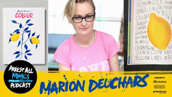 Podcast Arrest All Mimics: Marion Deuchars