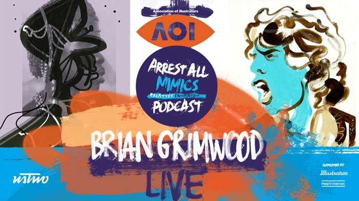 逮捕所有模仿者播客直播:Brian Grimwood