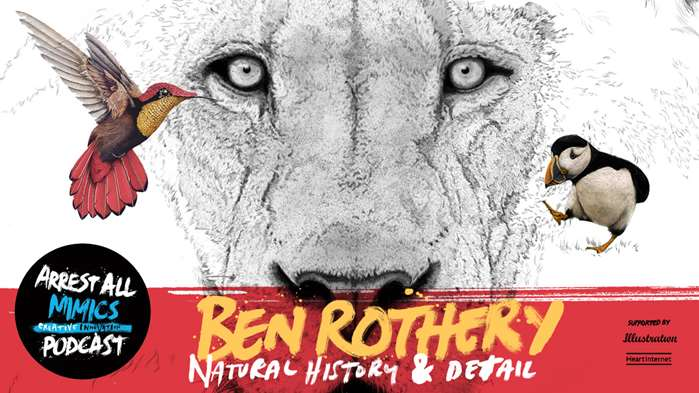 Podcast Arrest All Mimics: Ben Rothery