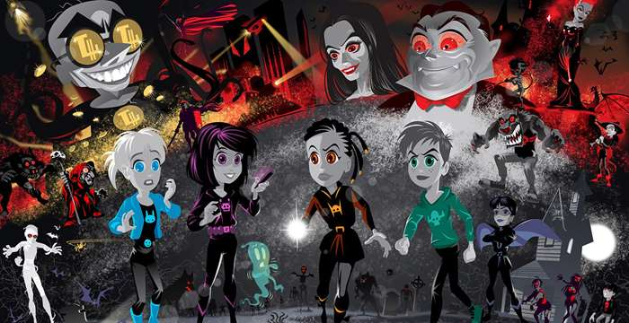 Peter Thom co-creates Spook Squad - an IP which is attracting lots of attention