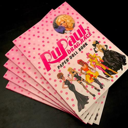 INSIDE OUT: RuPaul's Paper Dolls Book