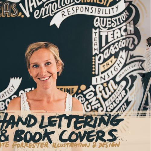 Arrest All Mimics Podcast: Hand Lettering & Book Covers