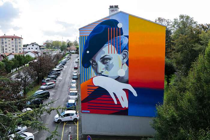 Mural for Point de Vue Festival