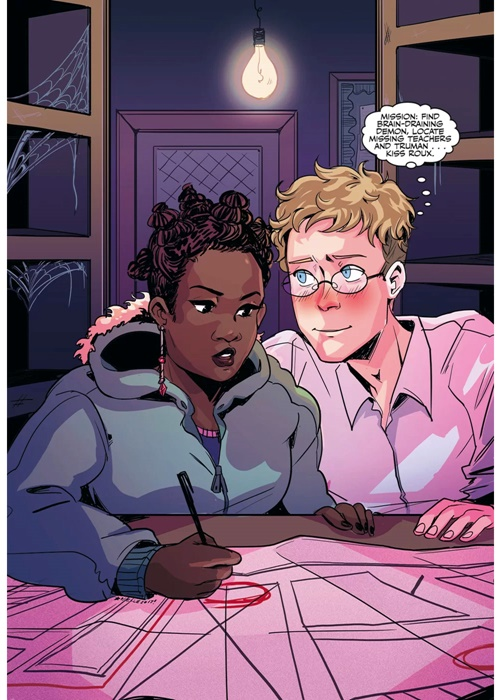 Dark Horse Comics ask Arielle Jovellanos to produce some art for a Buffy the Vampire Slayer