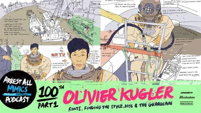 Podcast Arrest All Mimics: Olivier Kugler
