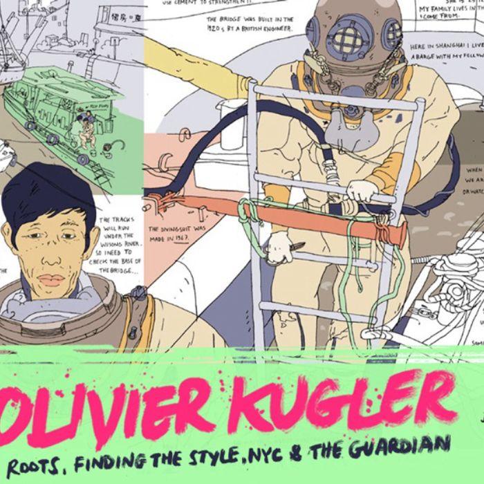 Arrest All Mimics Podcast: Olivier Kugler