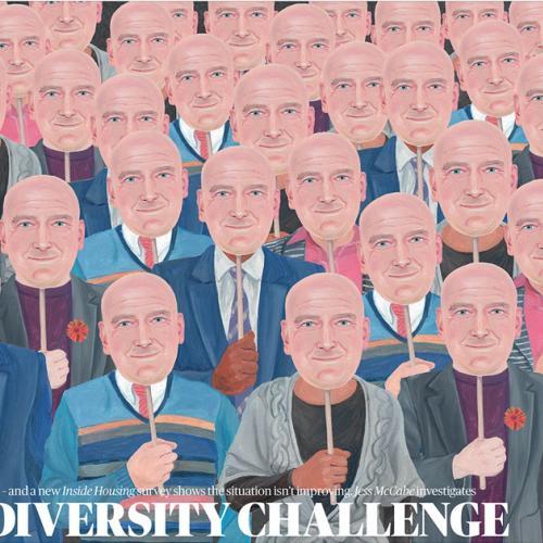 Mangel an Vielfalt
