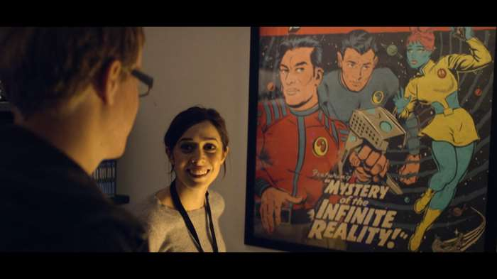 Butcher Billy gets involved in the production design of the TV series Black Mirror