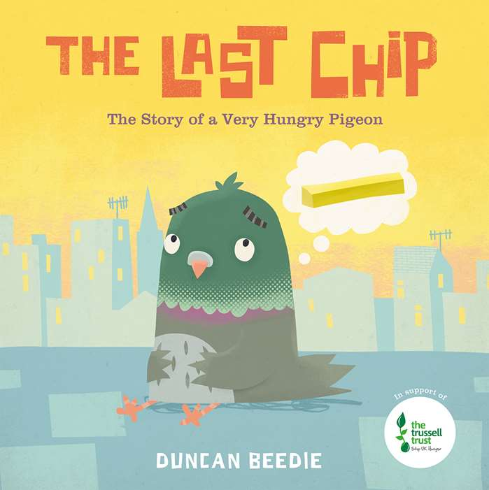 Telling the story of a very hungry pigeon, Duncan Beedie third delightful picture book is published by Templar books