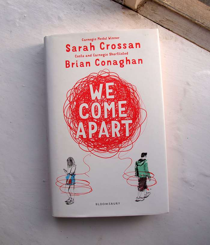 The front cover of Bloomsbury's 'We Come Apart' is illustrated by Ben Tallon