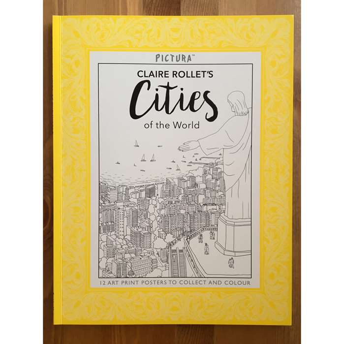 Claire Rollet adds another two books to the Pictura colouring series by templar publishing