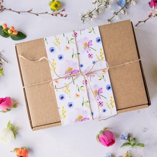 Spring Cake Packaging