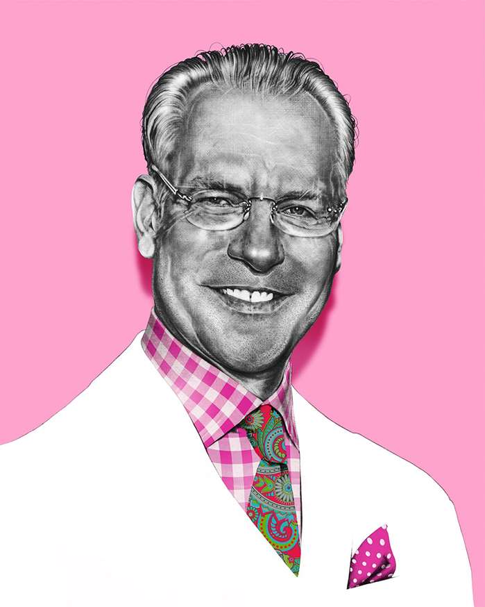 Fantastic portrait of Tim Gunn