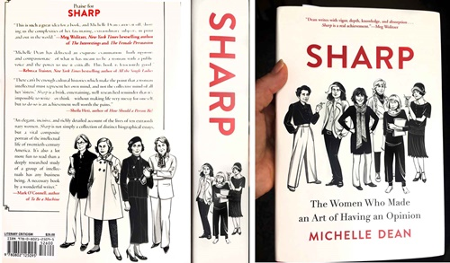 American female writers illustration for Sharp Book