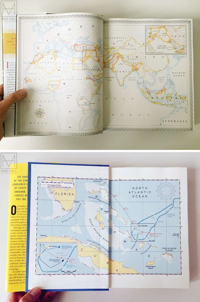 Two Exquisite Maps Illustrated By Mike Hall