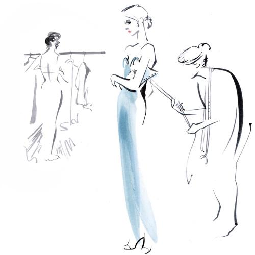 Couture sketches