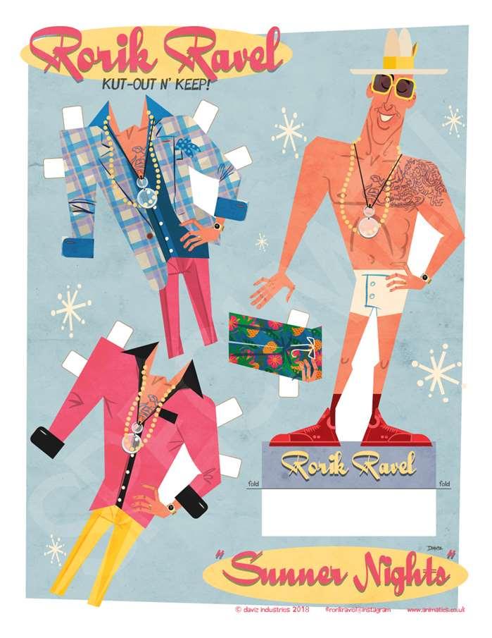 Rorik Ravel Fashion Illustration