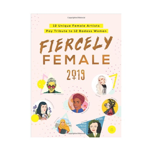 Cover Illustration For Fiercely Female Calendar