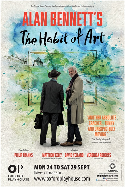 The Habit of Art Poster