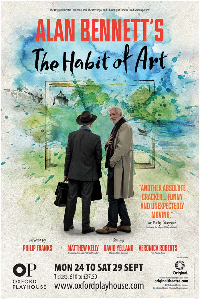 The Habit of Art Poster