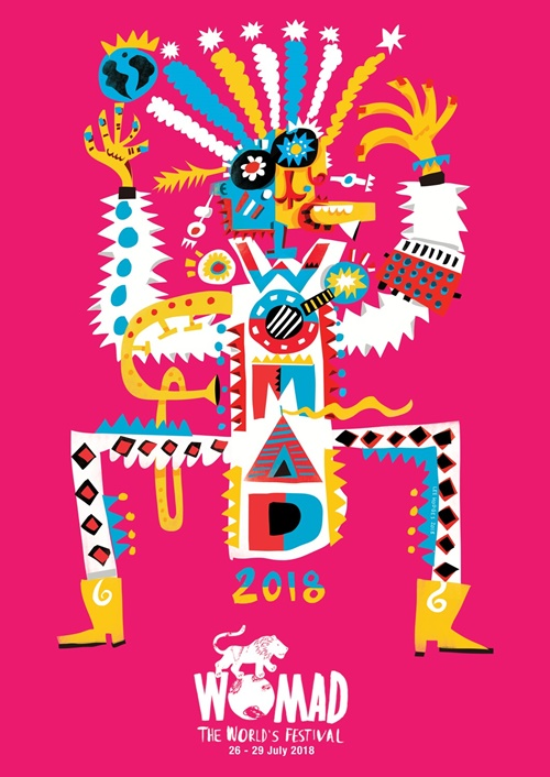T-Shirt Design For Womad Festival