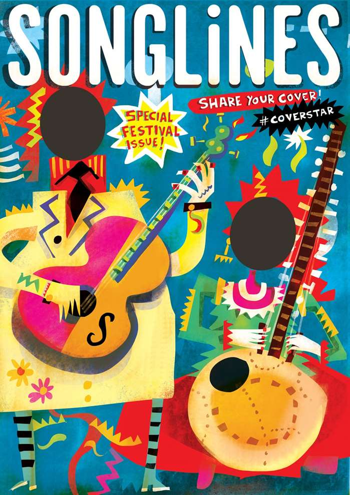 Artwork Created For Songlines Magazine