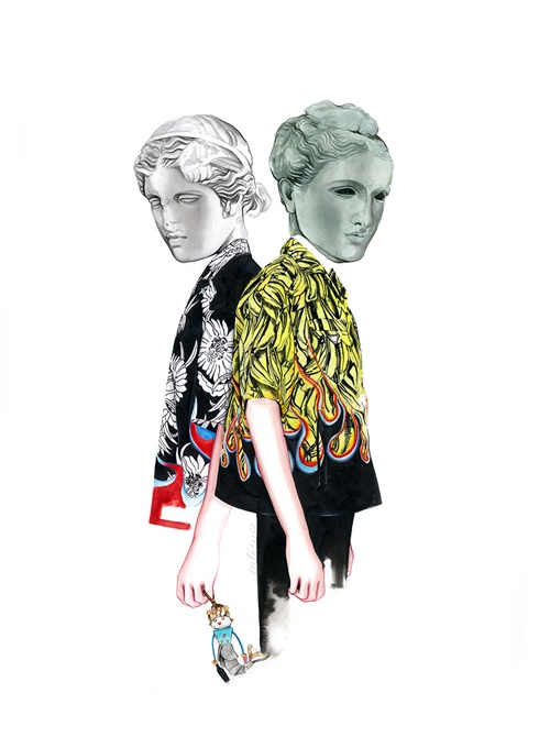 Fashion women illustration