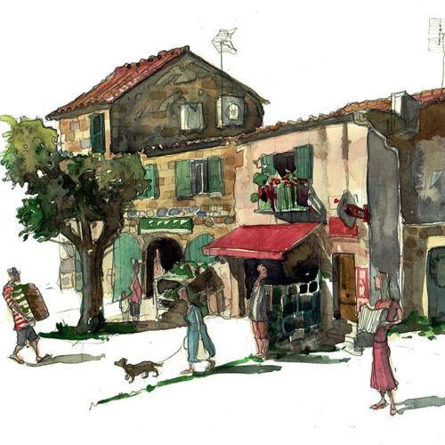 Languedoc-Roussillon and Provence Painting Series