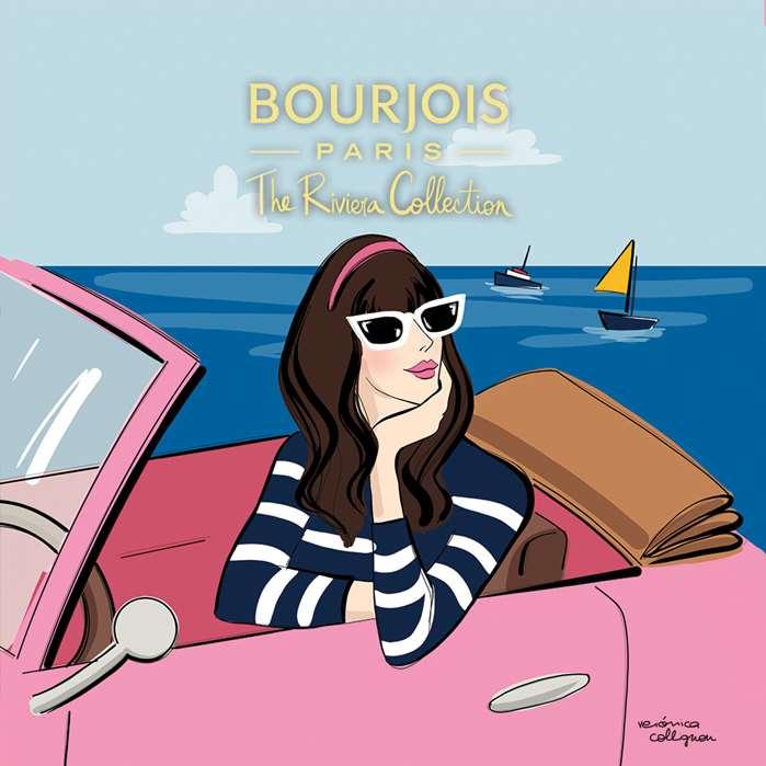 Fashion Illustration For Bourjois Blushes