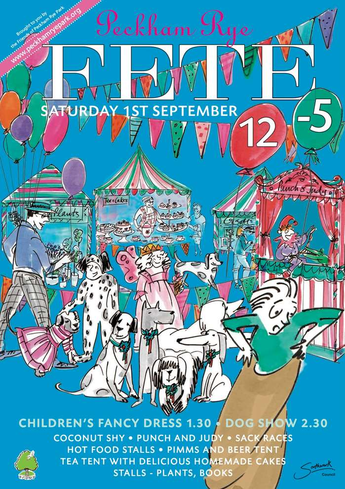 Peckham Rye Fete Poster Art