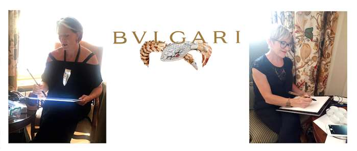 Live Event Drawing For Bvlgari