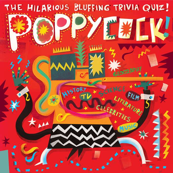 An Illustration For Poppycock Game