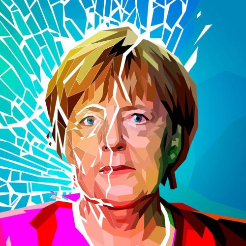 A Portrait of Angela Merkel
