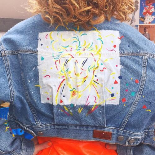 Desenho ao vivo para Pepe Jeans