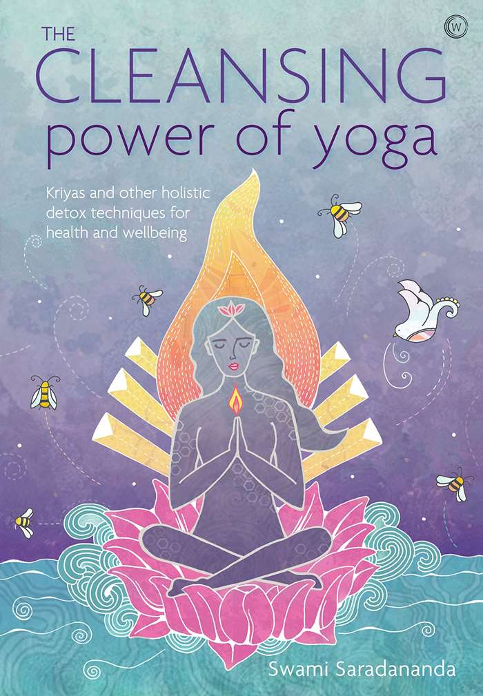 illustrated book cover of The Cleansing Power of Yoga