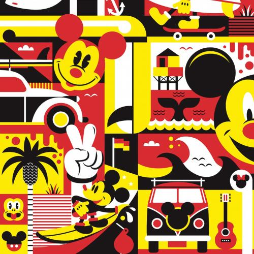 Célébration de Mickey Mouse